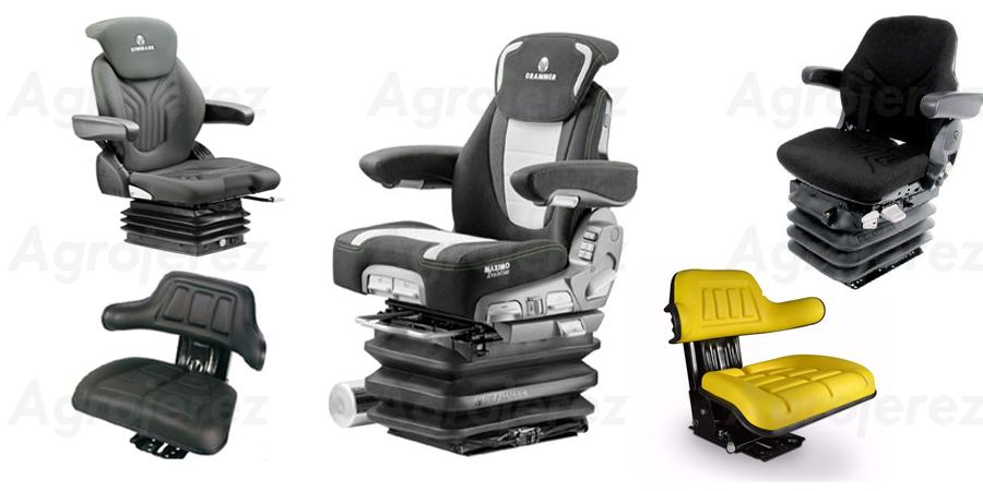 asientos neumaticos y mecanicos